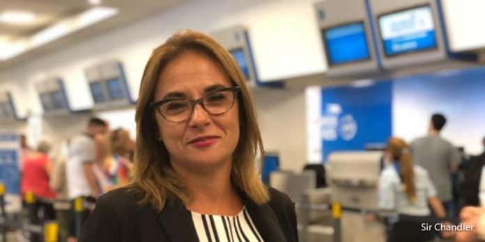 Paola Maure – jefa de base en Aeroparque