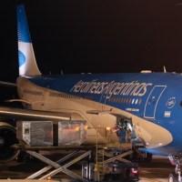 Vuelo a Nueva York con Aerolíneas Argentinas (AR1300)