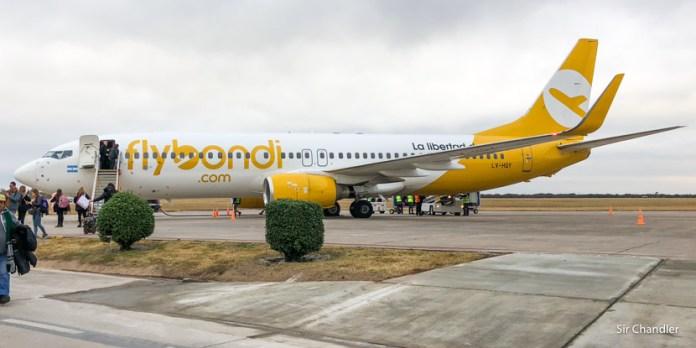 Flybondi comenzó a volar entre Córdoba y Corrientes