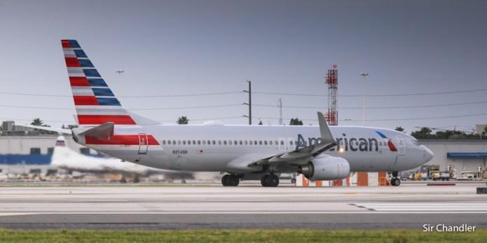 Vuelo de Cancún a Miami con American Airlines (upgrade del mago cacarulo)