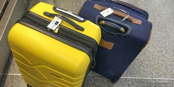 Planificar la valija a ser abierta por la seguridad del aeropuerto de Estados Unidos