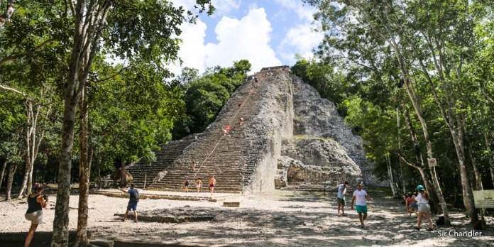 Visita a las ruinas de Cobá en la península de Yucatán