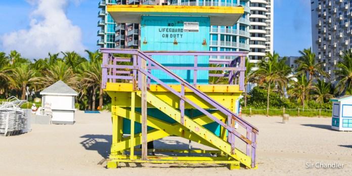 Comienzo del viaje a Miami, planificado con otro dólar…