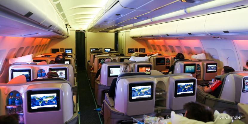 Vuelo a Madrid en Club Condor de Aerolíneas Argentinas y su nuevo menú