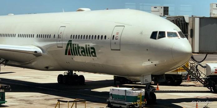 Vuelo a Roma con Alitalia – Boeing 777 Premium Economy