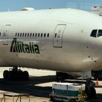 Vuelo a Roma con Alitalia - Boeing 777 Premium Economy
