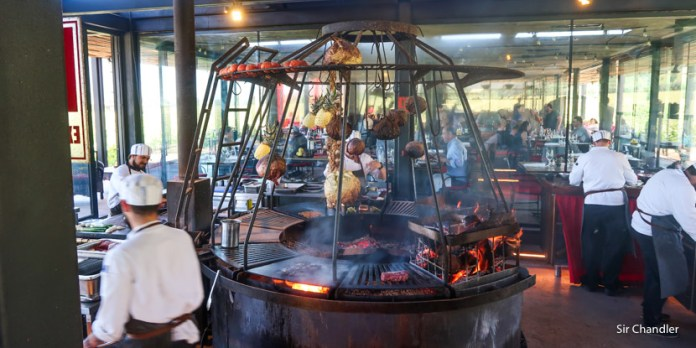 El restaurant de Francis Mallmann en una bodega de Colchagua (Chile)