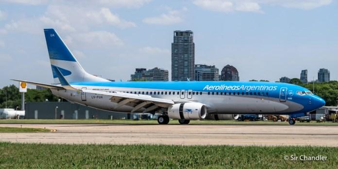 Aviación comercial argentina durante 2018: datos y números