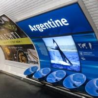 Argentine, la estación del metro de París