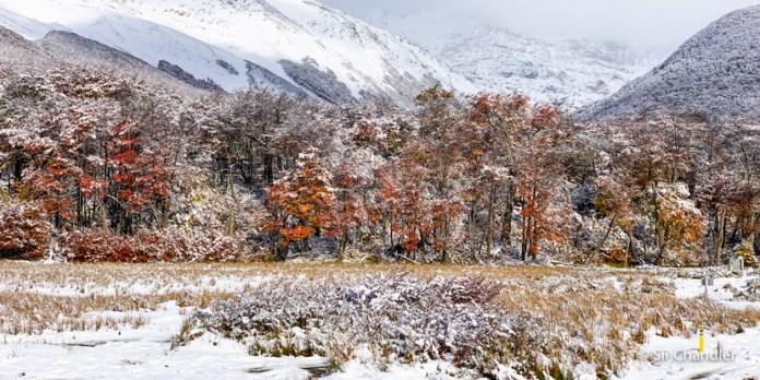 Laguna Esmeralda: el trekking hecho con mucha nieve y turba