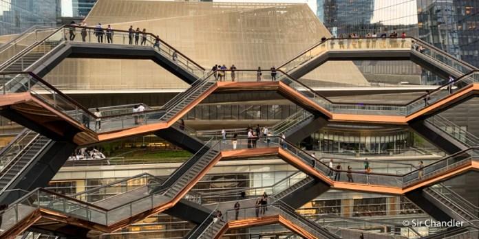Vessel, una locura arquitectónica e instagrameable en New York