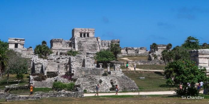 Las ruinas de Tulum desde Cozumel