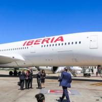 Rumbo a Madrid en el A350 de Iberia