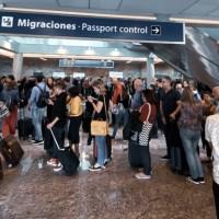 Migraciones medio colapsada o media vacía