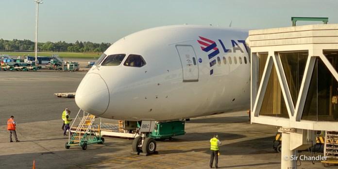 Vuelo a New York con Boeing 787 de Latam – business – LA532