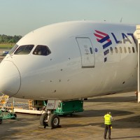 Vuelo a New York con Boeing 787 de Latam - business - LA532