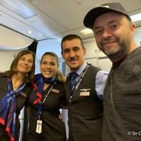 Miami Buenos Aires en vuelo de American Airlines con tripulación argentina