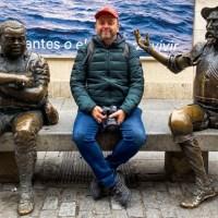 Un paseo por Alcalá de Henares y el Rey Felipe que quiso aparecer en el blog