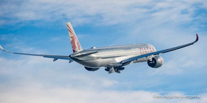 Qatar puso su avión más nuevo en la ruta a San Pablo (y continuaría a Buenos Aires)