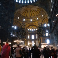 Postales de la ex basílica Santa Sofía de Estambul