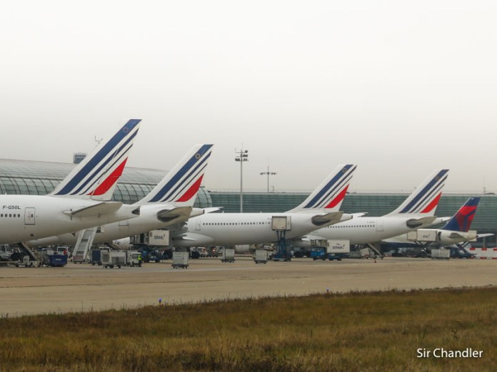 Los vuelos especiales de Air France en octubre