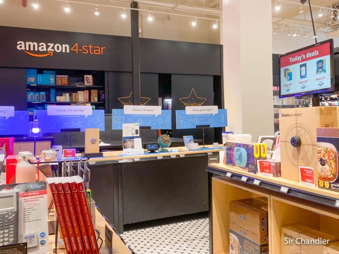 Una tienda de Amazon (¡¡física!!) en New York