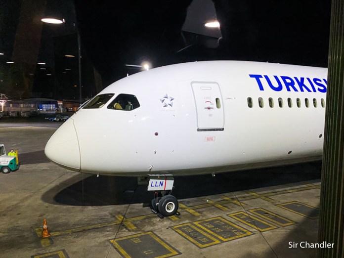 El vuelo a Estambul con Turkish II/II (el tramo largo)