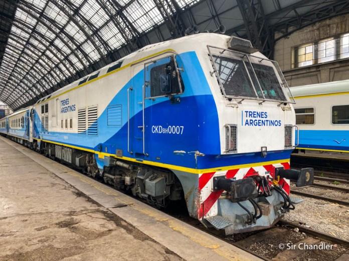 Viaje en tren a Rosario – crónica