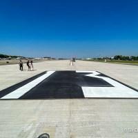Recorrida por la nueva pista de Aeroparque