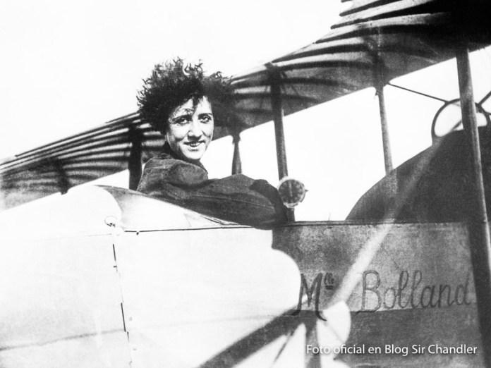 Los 100 años del vuelo de Adrienne Bolland sobre la cordillera de los Andes