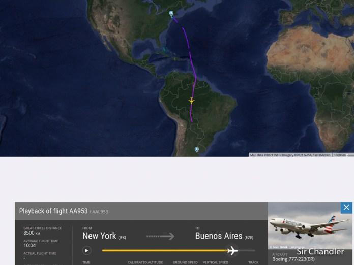 Más de un año suspendidos: Llega el primer vuelo desde New York de American Airlines