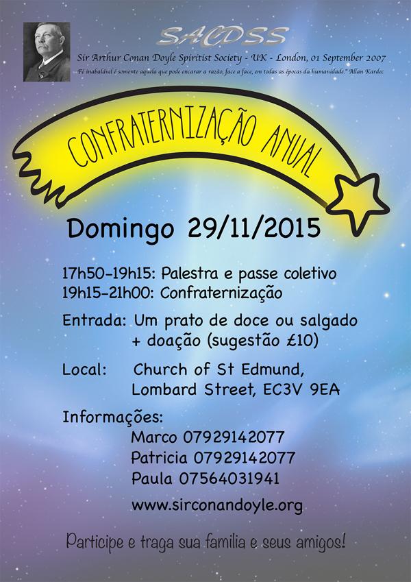 Confraternização Anual 2015