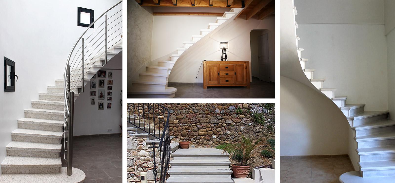 Prix Et Avantages De L Escalier En Beton