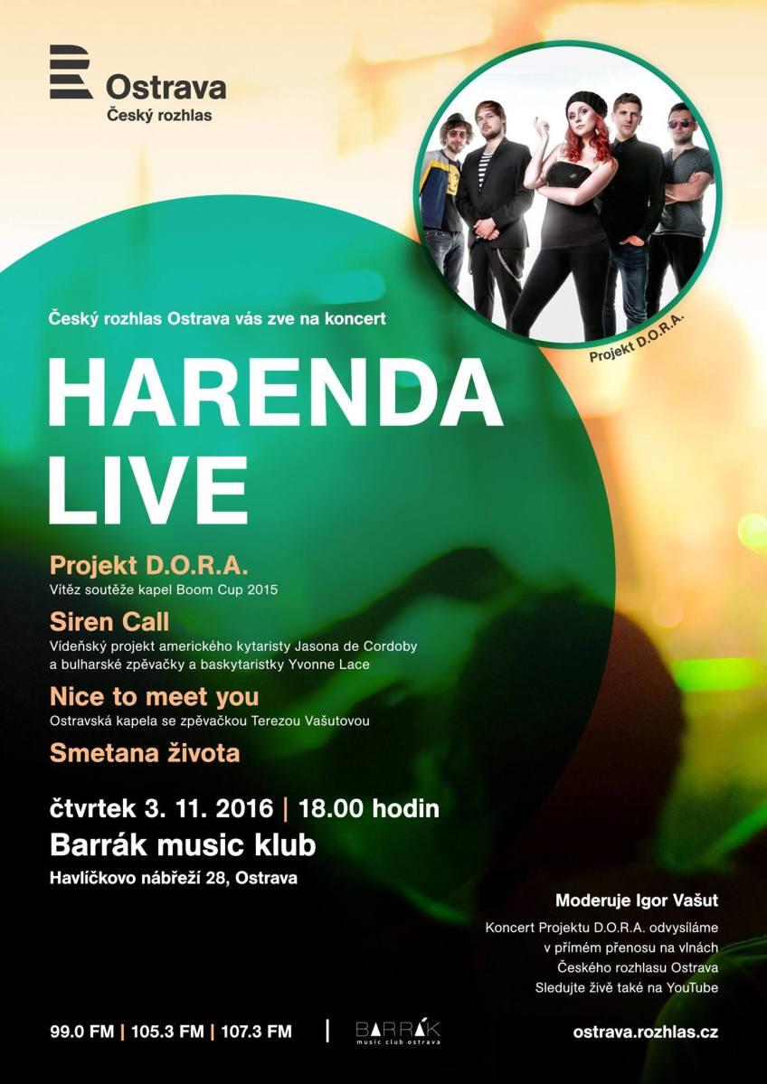 Harenda Live