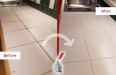 is bleach bad for grout