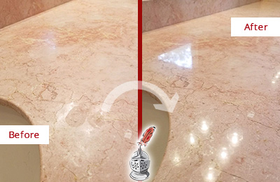 Residential Stone Countertop Sealing
