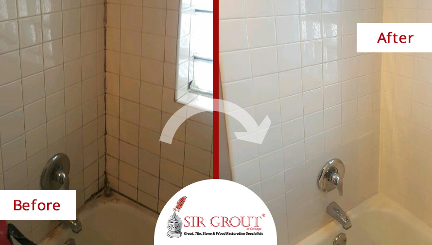 our grout cleaning experts in lakeview