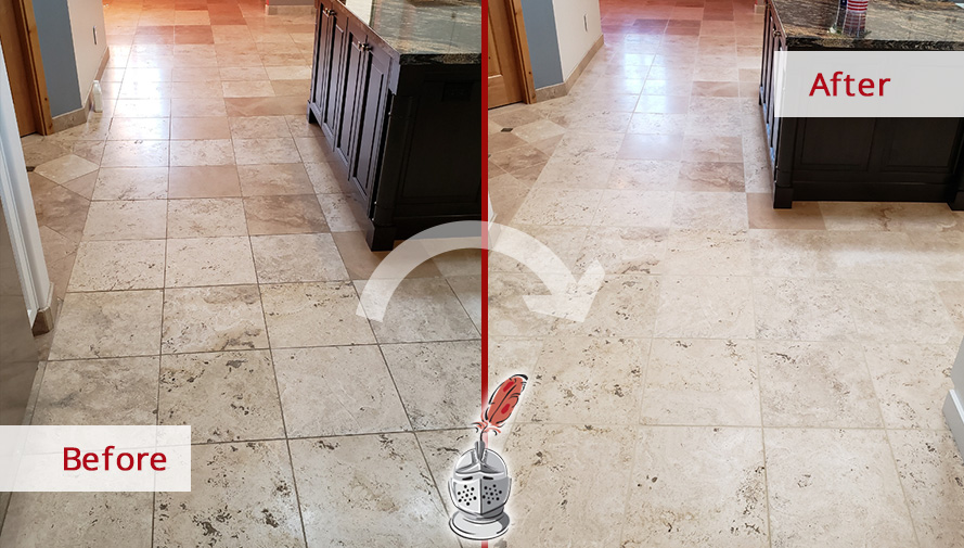 stone cleaning service and restored