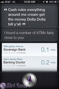 Cash Rules Everything Around Me Cream Get The Money Dolla Dolla Bukll Y'all - Siri Quotes