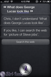 What Does George Lucas Look Like? - Siri Says