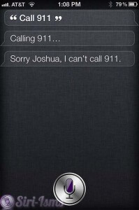 Ask Siri To Call 911