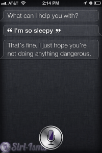 I'm So Sleepy - Funny Siri Sayings