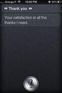 Thank you! Siris Funny Sayings