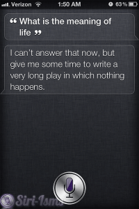 What Is The Meaning Of Life? - Siri Quotes