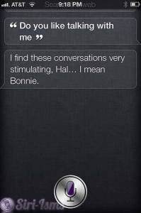 Do You Like Talking With Me? Siri 2001 Quotes