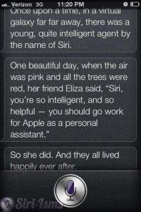Siri, Tell Me A Story...
