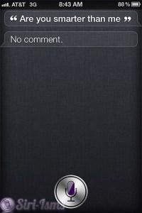 Are You Smarter Than Me? ~ Funny Siri Sayings