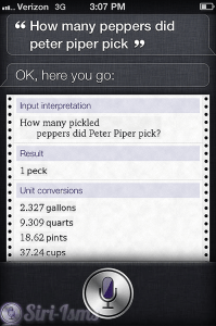How Many Peppers Did Peter Piper Pick? - Siri Quotes