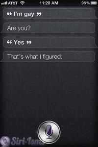 I Am Gay ~ Siri Says