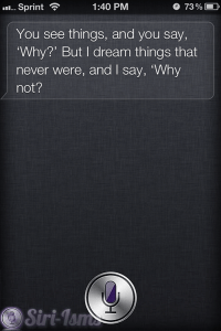 I See Things And I Say Why? - Funny Siri Sayings